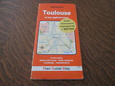 plan guide toulouse et son agglomeration