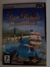Gioco PC strategia PORT ROYALE oro potere pirati CD-ROM