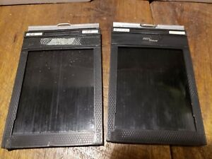 Fidelity Deluxe Pair of 4X5 Double Sided Cut Film Holder