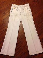 nwt Diesel Boot cut white jeans women's size 29 (waist 32 inseam 31.5)