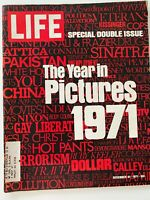 Life Magazine December 31 1971 The Year in Pictures
