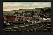 Swalwell near Consett - West End - colour printed postcard