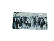 Pancho Villa And His Men License Plate New 6 X 12 Inches Aluminum