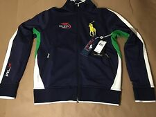 NWT POLO RALPH LAUREN RLX 2014 US OPEN TENNIS BIG PONY MENS M JACKET $198 RARE