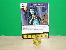 DICE MASTERS DC War of Light Rare - 120 Lyssa Drak