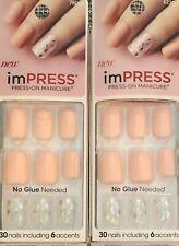 2, Kiss Impress Press-On Manicure, Symphony