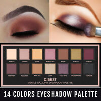 14 Colors Matte Glitter Eyeshadow Palette Shimmer Eye Shadow Makeup Cosmetic