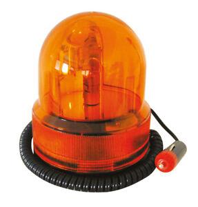 Rundumleuchte 12V + Magnetfuß Warnlicht DISCO Blitzlicht Partylicht FARBAUSWAHL