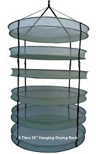 "The Clean Cut EZ Cure 35"" Hanging Drying Rack for drying Herbs Bud flower plant"
