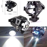125W U5 Motorcycle LED Headlight Driving Fog Lights Spot Lamps New Hot