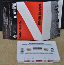 VAN HALEN  - Diver Down -                              Cassette Tape