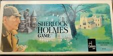 Sherlock Holmes The Game of Adventure and Deduction 1982 Cadco ~ Free Shipping!