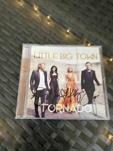 Little Big Town CD Autographed Signed