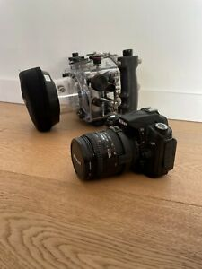 Ikelite 6809.1 Underwater Housing + Nikon D90 Camera + Lens + Extras!