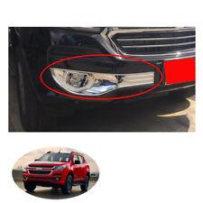 2016 - 2017 + Fog Lamp Light Cover Chrome Trim 2 Pc Chevrolet Holden Trailblazer