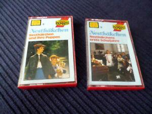 2xMC Kassette Nesthäckchen 1+2 Kathrin Toboll TV-Serie Puppen & Erste Schuljahre