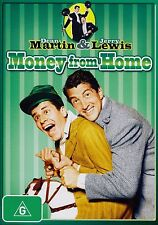Money From Home DVD 1953 Region 4 Dean Martin Jerry Lewis Comedy