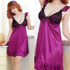 Women Sexy Lingerie Sleepwear Nightwear Underwear Lace BabyDoll Dress G-string