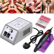 Professional Electric Acrylic Nail Art File Drill Set Manicure Machine Sand Kit