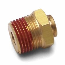"1/4"" Push to 1/2"" NPT Male Air Fitting bag ride oil thread pipe line adapter kit"