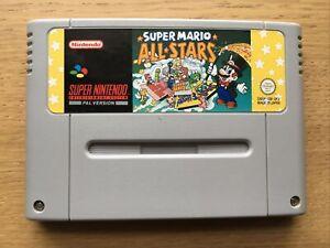 Super Mario Allstars Super Nintendo Snes Game Cart Only PAL