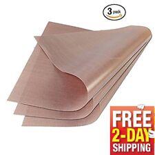 3 Pack Teflon Sheet 16x20 for Heat Press Transfer Art Craft Supply Sewing Tool