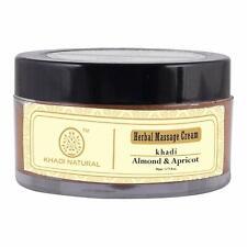 Khadi Natural Almond And Apricot Herbal Massage Cream
