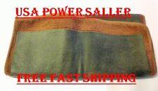 CLAY BAR MICROFIBRE TOWEL BROWN DETAILING CLOTH CAR WASH MOTORCYCLE AUTOMOBILE