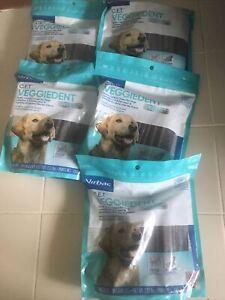 VIRBAC CET VeggieDent FR3SH Tartar Control 150 Chews for Dogs - LARGE BB 12/21