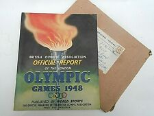 More details for british olympic assoc.official report  ** the london olympic games 1949 **