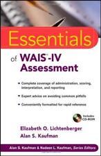 Essentials Of Wais-Iv Assessment - by Lichtenberger