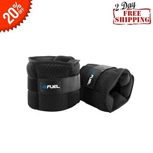 10lb Pair Fuel Pureformance Adjustable Wrist/Ankle Weights Strength Bodybuilding