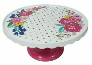 The Pioneer Woman Cake Stand Cheery Blooms Melamine Kitchen Party Birthday