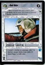 Star Wars CCG Hoth Black Border Dack Ralter