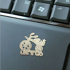 10X Korea Cartoon Anti-radiation 24k Gold-plated Mobile Phone Camera Sticker