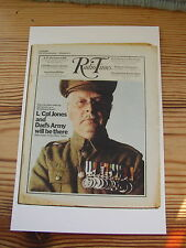 Postcard Vtg Radio Times cover September 1970 Dad's Army WWII Home Front BBC TV