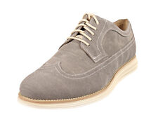 Cole Haan Men's Lunargrand Long Wing Oxford Shoes - Ironstone Canvas