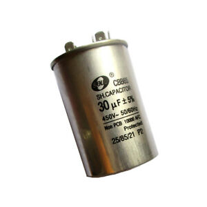 30MFD 450VAC Motor Run Capacitor 30uF for Air Conditioner