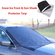 1×Car Snow Protect Cover Magnet Windshield Ice Sun Frost Protector Tarp SUV Flap