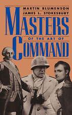 NEW Masters Of The Art Of Command (A Da Capo paperback) by Martin Blumenson