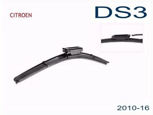 Citroen DS3  2010 2011 2012 2013 2014 2015 2016 Flexible Wiper Blades (PAIR)