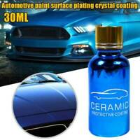 30ml 10H Car Polish Liquid Nano Ceramic Coat Super Hydrophobic Coating Kit AZ