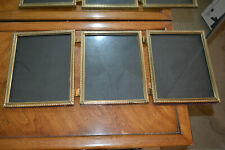 "Vintage TRI-FOLD table picture frame - for 8"" x 10"" - FB1"