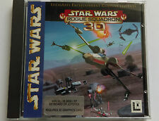 Star wars rogue squadron 3D jeu PC LUCASARTS version originale Jeu PC