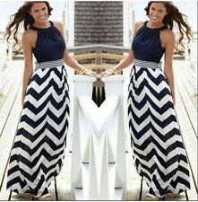 Women Summer Holiday Maxi Dress Party Long Skirt PLUS SIZE 8 1012 14 18 20  22 a0004a859044