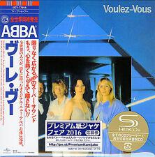 ABBA-VOULEZ-VOUS-JAPAN MINI LP SHM-CD BONUS TRACK Ltd/Ed G00
