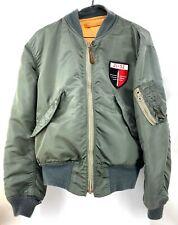 Vintage USAF Flight Jacket, Light Zone, L-2B, Size Medium Alpha Industries