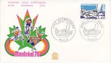 Enveloppe 1er jour FDC n°974 - 1976 : Jeux Olympiques de Montréal