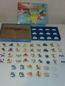 Milton Bradley Pokemon Memory Game 1999 Nintendo *Complete