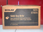 CASE 2 SOLID OXY-BRITE Ecolab 16016 Super Concentrated Laundry DESTAINER 6116016